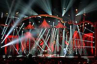 SÃO PAULO, SP, 11.11.2015 - SHOW MILIONÁRIO E MARCIANO - Os cantores sertanejos Milionário e Marciano, durante gravação do DVD Lendas, onde apresentaram músicas da vitoriosa carreira que tiveram em tempos de dupla com José Rico (falecido em 2015) e João Mineiro (falecido em 2012). O show aconteceu na noite desta quarta feira (11), no Citibank Hall em São Paulo. (Foto: Levi Bianco/Brazil Photo Press)
