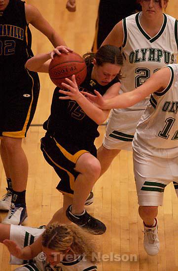 Olympus vs. Taylorsville girls high school basketball. 12.17.2004<br />