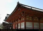 Kodo Lecture Hall detail, Toji East Temple, Kyoto, Japan