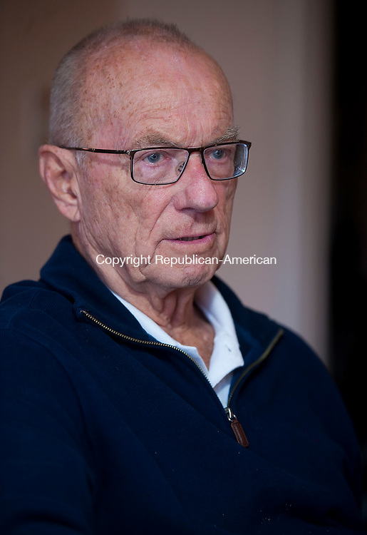 SOUTHBURY, CT--- -111915JS10--Edward Gore, a member of the Southbury Planning Commission for 17 years, and chairman for seven, has decided now is the time to step down. Gore is proud of his accomplishments to the town over the years. <br /> Jim Shannon Republican-American