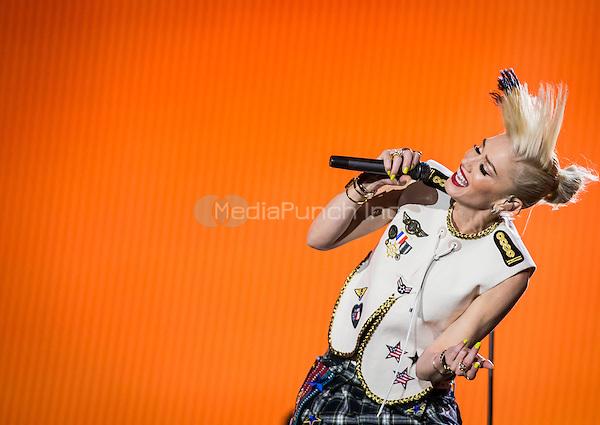 LAS VEGAS, NV - May 8: Gwen Stefani pictured as No Doubt performs at Rock In Rio in Las Vegas, NV on May 8, 2015. Credit: Erik Kabik Photography/MediaPunch
