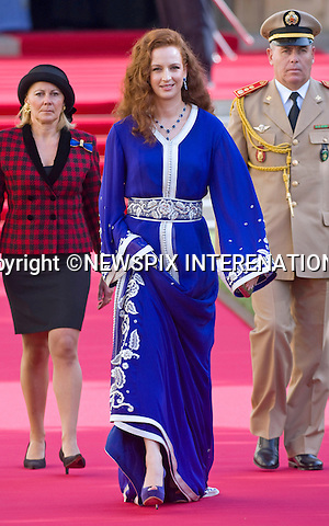 "PRINCESS LALLA SALMA OF MOROCCO.Religious Wedding Ceremony of HRH the Hereditary Grand Duke and Countess Stéphanie de Lannoy at Cathedral of Our lady of Luxembourg, Luxembourg_20-10-2012.Mandatory credit photo: ©Dias/NEWSPIX INTERNATIONAL..(Failure to credit will incur a surcharge of 100% of reproduction fees)..                **ALL FEES PAYABLE TO: ""NEWSPIX INTERNATIONAL""**..IMMEDIATE CONFIRMATION OF USAGE REQUIRED:.Newspix International, 31 Chinnery Hill, Bishop's Stortford, ENGLAND CM23 3PS.Tel:+441279 324672  ; Fax: +441279656877.Mobile:  07775681153.e-mail: info@newspixinternational.co.uk"