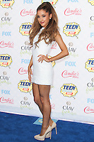 LOS ANGELES, CA, USA - AUGUST 10: Ariana Grande arrives at the Teen Choice Awards 2014 held at The Shrine Auditorium on August 10, 2014 in Los Angeles, California, United States. (Photo by Celebrity Monitor)