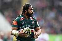 Tatafu Polota-Nau of Leicester Tigers. Aviva Premiership match, between Leicester Tigers and Northampton Saints on April 14, 2018 at Welford Road in Leicester, England. Photo by: Patrick Khachfe / JMP