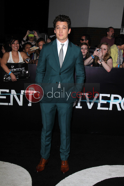 Miles Teller<br />