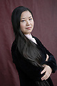 Shan Sa ,Chinese author of THe Girl Who PLayed Go.  CREDIT Geraint Lewis