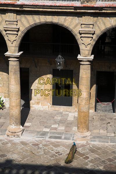 Arch in courtyard, Museo de la Ciudad, Palacio de los Capitanes Generales, Havana, La Habana Vieja, Cuba