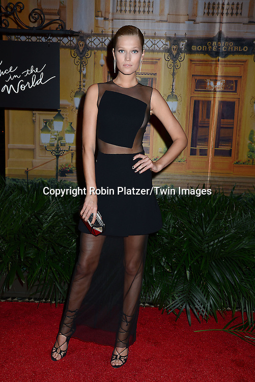 Toni Garrn attends the New Yorkers for Children's Fall Gala on September 16, 2015 at Cipriani 42nd Street in New York City, New York, USA.<br /> <br /> photo by Robin Platzer/Twin Images<br />  <br /> phone number 212-935-0770