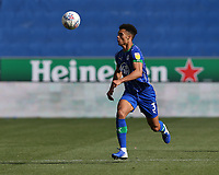 Wigan Athletic's Antonee Robinson<br /> <br /> Photographer Stephen White/CameraSport<br /> <br /> The EFL Sky Bet Championship - Wigan Athletic v Leeds United - Saturday 17th August 2019 - DW Stadium - Wigan<br /> <br /> World Copyright © 2019 CameraSport. All rights reserved. 43 Linden Ave. Countesthorpe. Leicester. England. LE8 5PG - Tel: +44 (0) 116 277 4147 - admin@camerasport.com - www.camerasport.com