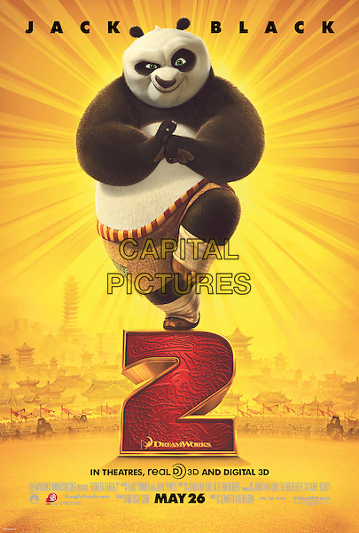 POSTER ART.in Kung Fu Panda 2 .*Filmstill - Editorial Use Only*.CAP/FB.Supplied by Capital Pictures.