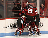 Heather Mottau (NU - 26) - The Boston College Eagles defeated the Northeastern University Huskies 2-1 to win the Beanpot on Monday, February 7, 2017, at Matthews Arena in Boston, Massachusetts.