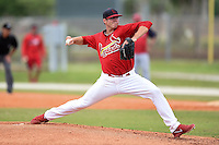St. Louis Cardinals pitcher Chris Thomas (35) during a minor league spring training intrasquad game on March 28, 2014 at the Roger Dean Stadium Complex in Jupiter, Florida.  (Mike Janes/Four Seam Images)