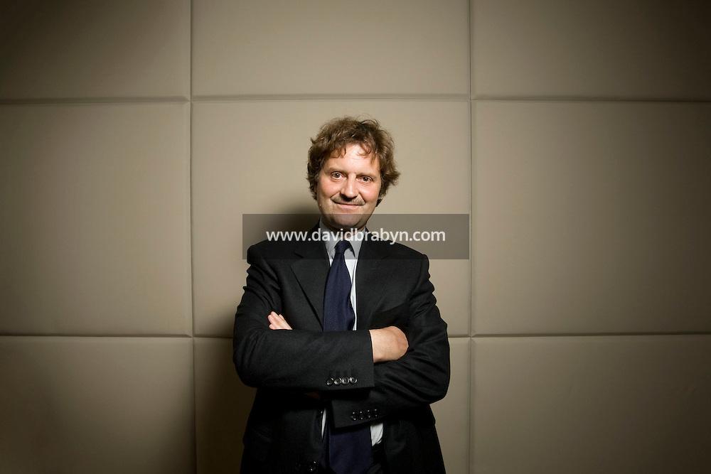 Laurent Baril, associé-gérant de Rothschild & Cie Banque, Paris, France 6 mai 2008