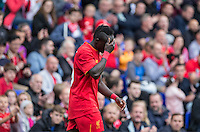 Sadio Mane of Liverpool shows his frustration during the 2016/17 Pre Season Friendly match between Tranmere Rovers and Liverpool at Prenton Park, Birkenhead, England on 8 July 2016. Photo by PRiME Media Images.