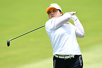 SINGAPORE - MARCH 03: Inbee Park of South Korea on the 12th fairway during the final round of the HSBC Women's World Championship 2019 at Sentosa Golf Club - Tanjong Course, Singapore on March 03, 2019.<br /> .<br /> .<br /> .<br /> (Photo by: Naratip Golf Srisupab/SEALs Sports Images)<br /> .<br /> Any image use must include a mandatory credit line adjacent to the content which should read: Naratip Golf Srisupab/SEALs Sports Images