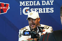 Will Smith (Saints)<br /> Super Bowl XLIV Media Day, Sun Life Stadium *** Local Caption *** Foto ist honorarpflichtig! zzgl. gesetzl. MwSt. Auf Anfrage in hoeherer Qualitaet/Aufloesung. Belegexemplar an: Marc Schueler, Alte Weinstrasse 1, 61352 Bad Homburg, Tel. +49 (0) 151 11 65 49 88, www.gameday-mediaservices.de. Email: marc.schueler@gameday-mediaservices.de, Bankverbindung: Volksbank Bergstrasse, Kto.: 52137306, BLZ: 50890000