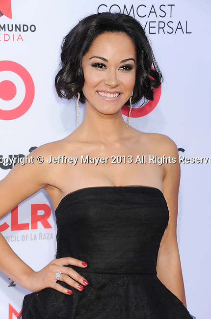 PASADENA, CA- SEPTEMBER 27: Actress Jael de Pardo arrives at the 2013 NCLA ALMA Awards at Pasadena Civic Auditorium on September 27, 2013 in Pasadena, California.