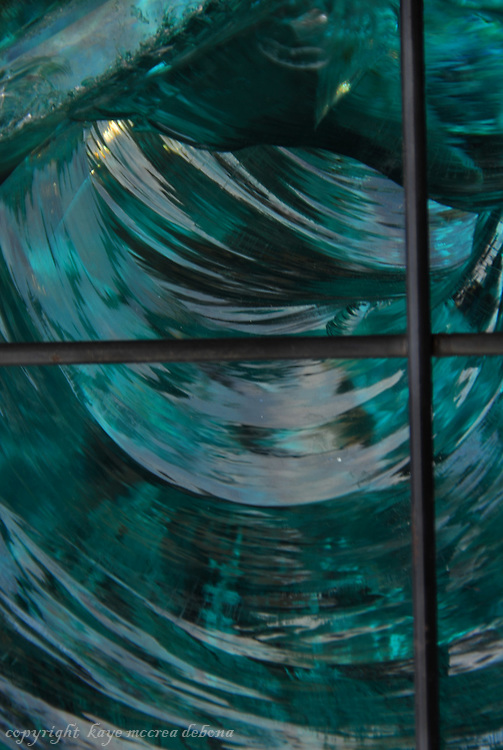 Blue Glass Swirls