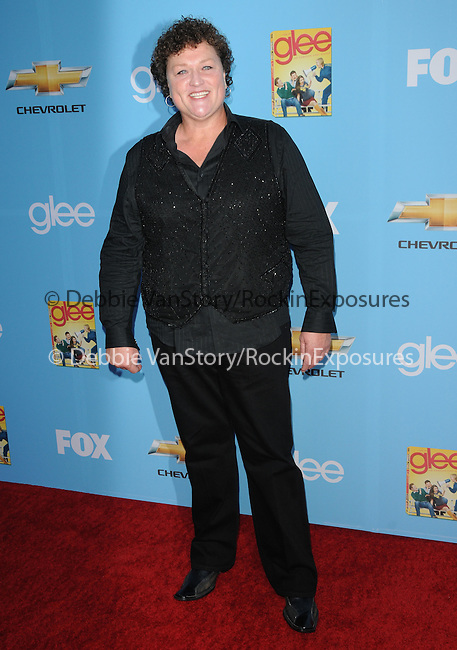 Dot Marie Jones. at Fox's Premiere Screening & Party for Glee held at Paramount Studios in Hollywood, California on September 07,2010                                                                   Copyright 2010  Hollywood Press Agency