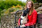 Tara Foley with her dog Sky.