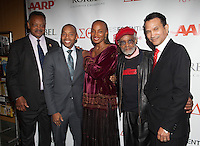 NEW YORK, NY - NOVEMBER 14: Reverend Jesse Jackson,  Khalil Muhammad,  Susan L Taylor and Khephra Burns at the 'Life's Essentials With Ruby Dee' screening at The Schomburg Center for Research in Black Culture on November 14, 2012 in New York City. Photo by Diego Corredor/MediaPunch Inc. /NortePhoto