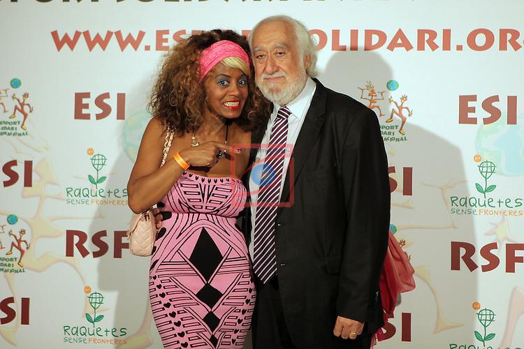 XIe Sopar Solidari d'ESI (Esport Solidari Internacional).<br /> Josep Maldonado &amp; Regina Do Santos.