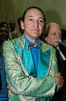 SAO PAULO, SP, 23 JULHO 2012 - ELEICOES 2012 - CELSO RUSSOMANO – O humorista Marquito durante apoio de candidatura o recem-criado Partido Ecologico Nacional (PEN) a prefeitura de Sao Paulo na noite desta segunda-feira pelo presidente do PEN, o ex-deputado Adilson Barroso, no hotel Maksoud Plaza regiao da avenida paulista. FOTO: AMAURI NENH - BRAZIL PHOTO PRESS.