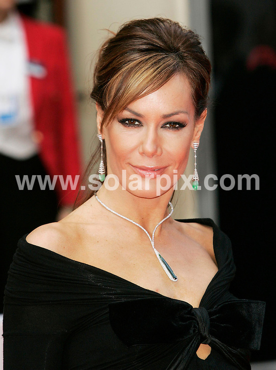 **ALL ROUND PICTURES FROM SOLARPIX.COM**.**WORLDWIDE SYNDICATION RIGHTS**.2007 TV Bafta Awards held at the London Palladium and hosted by Graham Norton on 20.05.07.  This pic: Tara Palmer-Tomkinson..JOB REF:   3965      RSR        DATE: 20.05.07.**MUST CREDIT SOLARPIX.COM OR DOUBLE FEE WILL BE CHARGED* *UNDER NO CIRCUMSTANCES IS THIS IMAGE TO BE REPRODUCED FOR ANY ONLINE EDITION WITHOUT PRIOR PERMISSION*