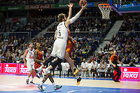 Real Madrid´s Andres Nocioni during 2014-15 Euroleague Basketball match between Real Madrid and Galatasaray at Palacio de los Deportes stadium in Madrid, Spain. January 08, 2015. (ALTERPHOTOS/Luis Fernandez) /NortePhoto /NortePhoto.com