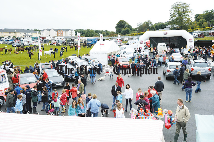 Overall View of Fiat Stand at the Clare County Show in Ennis. Photograph by John Kelly.