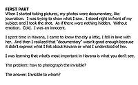 Havana and Me: How Havana Made Me the Photographer I Am