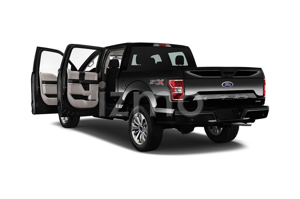 Car images of 2018 Ford F-150 XL-SuperCrew 4 Door Pickup Doors