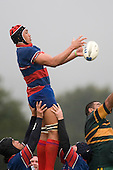 Piula Fa'aselele. Counties Manukau Premier Club Rugby semi final game between Ardmore Marist & Pukekohe played at Bruce Pulman Park Papakura on Saturday July 19th 2008. Ardmore Marist won 18 - 15 & will meet Patumahoe in the final next weekend.