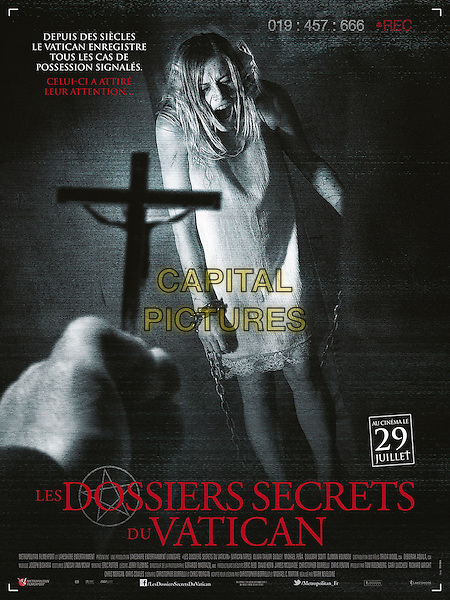 The Vatican Tapes (2015) <br /> POSTER ART<br /> *Filmstill - Editorial Use Only*<br /> CAP/KFS<br /> Image supplied by Capital Pictures