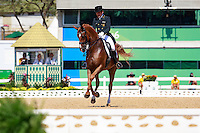 ESP-Severo Jesus Jurado Lopez rides Lorenzo in the Individual Medal Competition Grand Prix Kur for the Equestrian Dressage (Final-5th). Rio 2016 Olympic Games, Centro Olímpico de Hipismo, Rio de Janeiro, Brazil. Monday 15 August. Copyright photo: Libby Law Photography