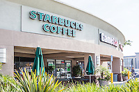 Starbucks Coffee at The Marketplace Shopping Center in Alhambra