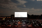 Large crowds attend a night at the movies at Family Drive-In Theatre in Stephens City, Virginia on July 20, 2013. CREDIT: Lance Rosenfield/Prime