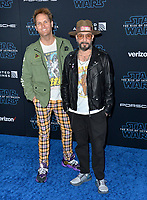 """LOS ANGELES, USA. December 17, 2019: AJ McLean & Mark Adler at the world premiere of """"Star Wars: The Rise of Skywalker"""" at the El Capitan Theatre.<br /> Picture: Paul Smith/Featureflash"""