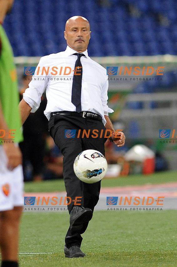 """l'allenatore dell'atalanta stefano colantuono..Roma 01-10-2011 """"Stadio Olimpico""""..Calcio Football Serie A 2011-2012..Roma Atalanta..Foto Insidefoto Massimo Oliva"""