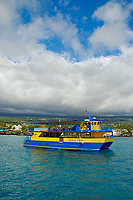 Spirit of Kona tour boat, Kailua Kona, The Big Island of Hawaii