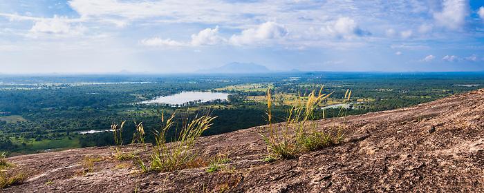 Panoramic photo of Sri Lanka landscape, taken from Pidurangala Rock, North Central Province, Sri Lanka. This is a panoramic photo of a Sri Lanka landscape, taken from Pidurangala Rock, North Central Province, Sri Lanka.