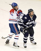 Chad Ruhwedel (Lowell - 3), Blake Kessel (UNH - 20) - The visiting University of New Hampshire Wildcats defeated the University of Massachusetts-Lowell River Hawks 3-0 on Thursday, December 2, 2010, at Tsongas Arena in Lowell, Massachusetts.
