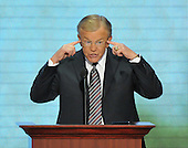 St. Paul, MN - September 4, 2008 -- Former Washington Redskins Head Coach speaks on day 4 of the 2008 Republican National Convention at the Xcel Energy Center in St. Paul, Minnesota on Thursday, September 4, 2008..Credit: Ron Sachs / CNP.(RESTRICTION: NO New York or New Jersey Newspapers or newspapers within a 75 mile radius of New York City)