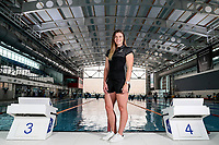 Helena Gasson. Swimming New Zealand Gold Coast Commonweath Games Team Announcement, Owen G Glenn National Aquatic Centre, Auckland, New Zealand,Friday 22 December 2017. Photo: Simon Watts/www.bwmedia.co.nz