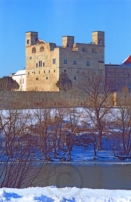 """The castle in Sarospatak (Chateau Rakoczi) in the Tokaj region, on the river Bodrog. Supposedly once inhabited by the """"real"""" count Dracula.. It is where the prince of Transylvania once lived. Credit Per Karlsson BKWine.com Rákóczi-Var Vár"""