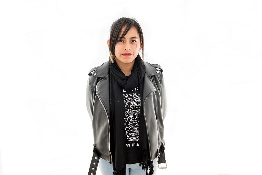 Tamara Jimenez. Model Release #34. Moving Portraits, Monumento a la Revolucion, Mexico City, Mexico