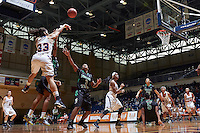 SAN ANTONIO, TX - JANUARY 4, 2015: The University of North Texas Mean Green fall to the University of Texas at San Antonio Roadrunners 53-45 at the UTSA Convocation Center. (Photo by Jeff Huehn)