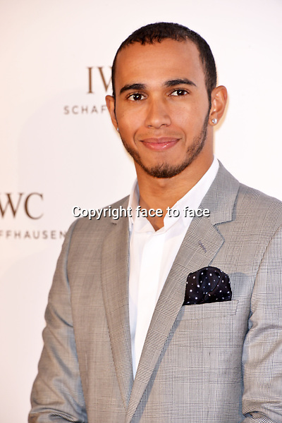 """Lewis Hamilton attending IWC Gala Evening """"FOR THE LOVE OF CINEMA"""" at Hotel Du Cap-Eden-Roc during The 66th Annual Cannes Film Festival on 19th May 2013 in Canness, France. Credit: Timm/face to face"""