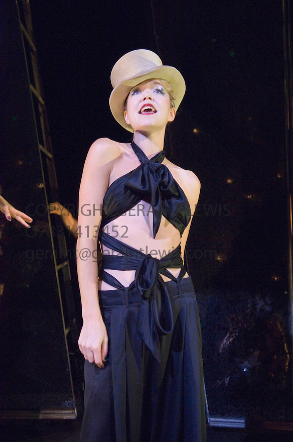 Cabaret directed by Rufus Norris with Anna Maxwell Martin as Sally Bowles .  Opens at the Lyric  Theatre on 10/10/06 CREDIT Geraint Lewis