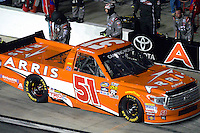 18-19 February, 2016, Daytona Beach, Florida USA<br /> Daniel Suarez makes a pit stop.<br /> ©2016, F. Peirce Williams